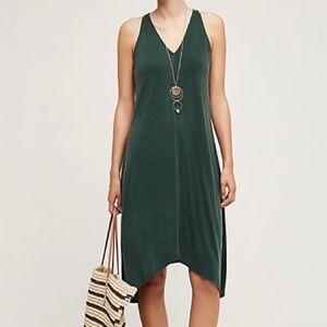 Anthropologie Dolan Willa Emerald Green Dress Sz S